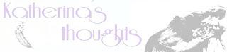 Foto de la portada de cabecera del blog Katherina's Thoughts