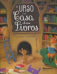 """DIA INTERNACIONAL DO LIVRO INFANTIL """"O  URSO E A CASA DOS LIVROS"""" de Poppy Bishop"""