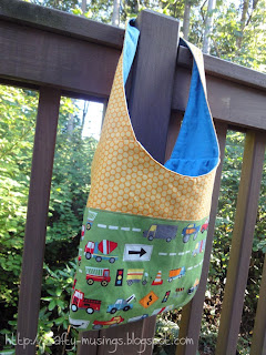 Mail Sack, side view