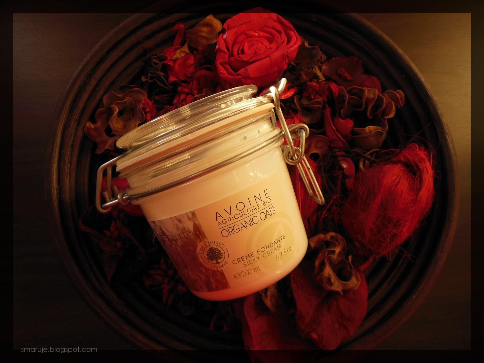 Yves Rocher –Les Plaisirs Nature – Avoine Agriculture Bio Organic Oats, czyli mydlany balsam w rozkosznym słoju