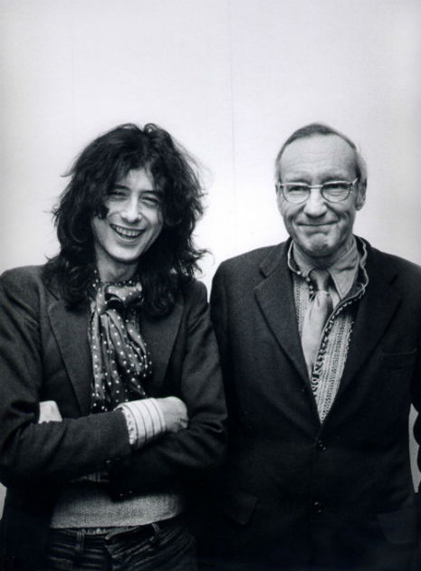 Jimmy Page e William Burroughs