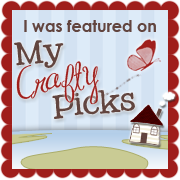 I was featured in My Crafty Picks