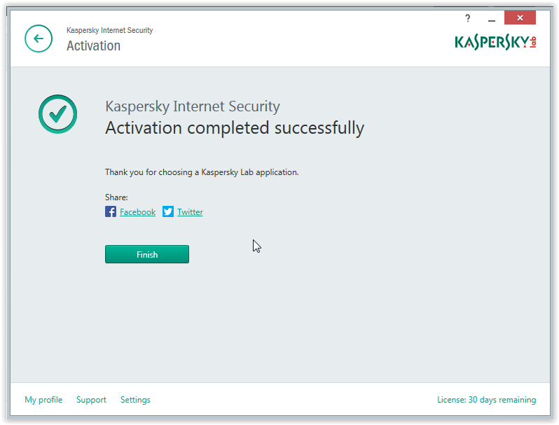 Kaspersky 2015 trial reset installing windows 10 technical i am looking for 60 90 180 days licence anyway whats matter now is to activate the free trial 30 days click the green link activate trial version of ccuart