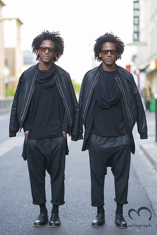 mitograph Abby Double After Damir Doma Paris Mens Fashion Week 2014 Spring Summer PFW Street Style Shimpei Mito