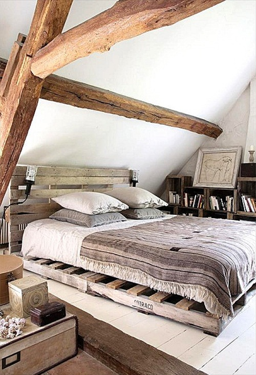 34 diy ideas best use of cheap pallet bed frame wood