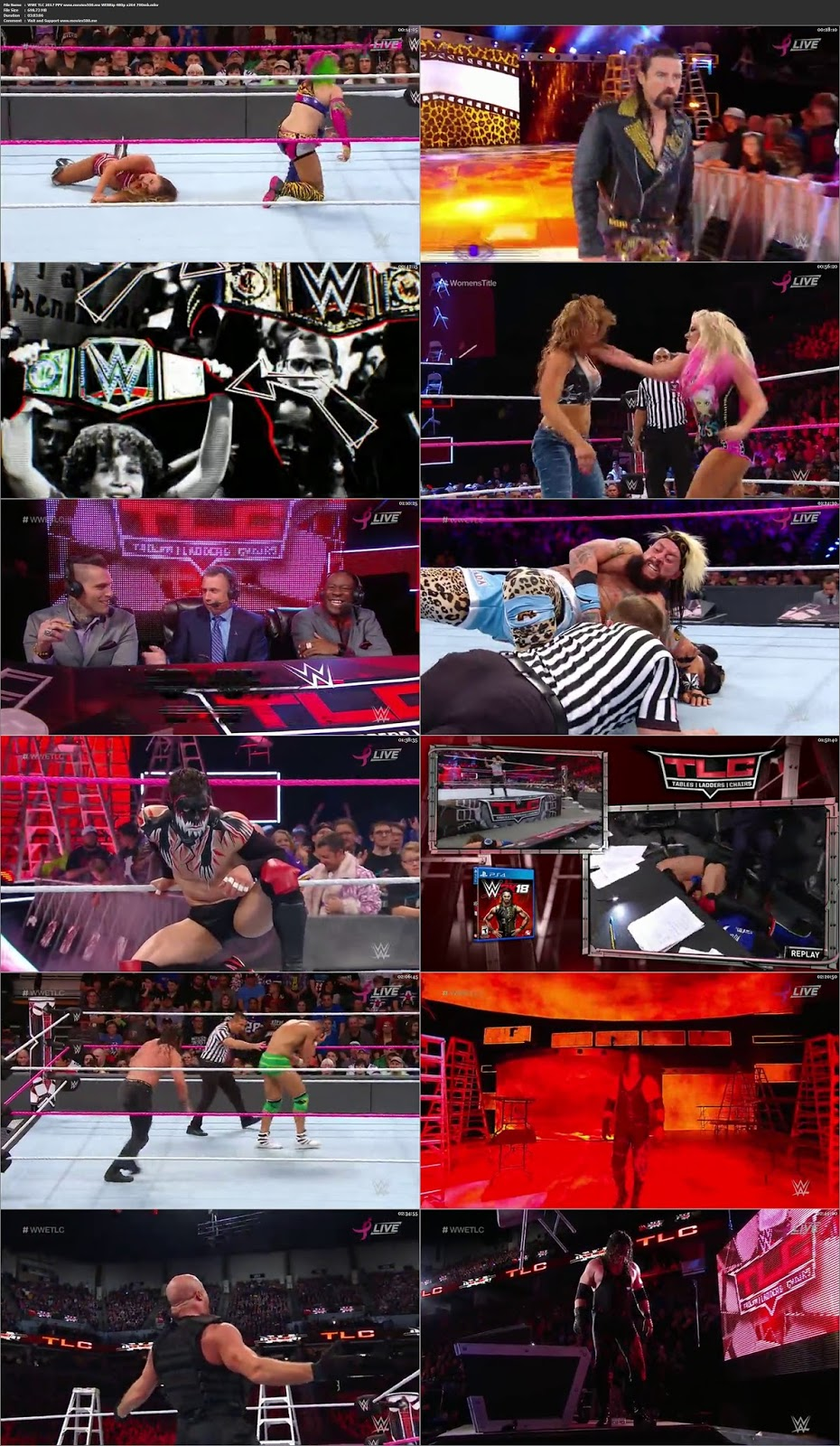 WWE TLC 2017 Full Wrestling Show WEBRip 480p at softwaresonly.com