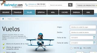 comparador de vuelos rastreator.com