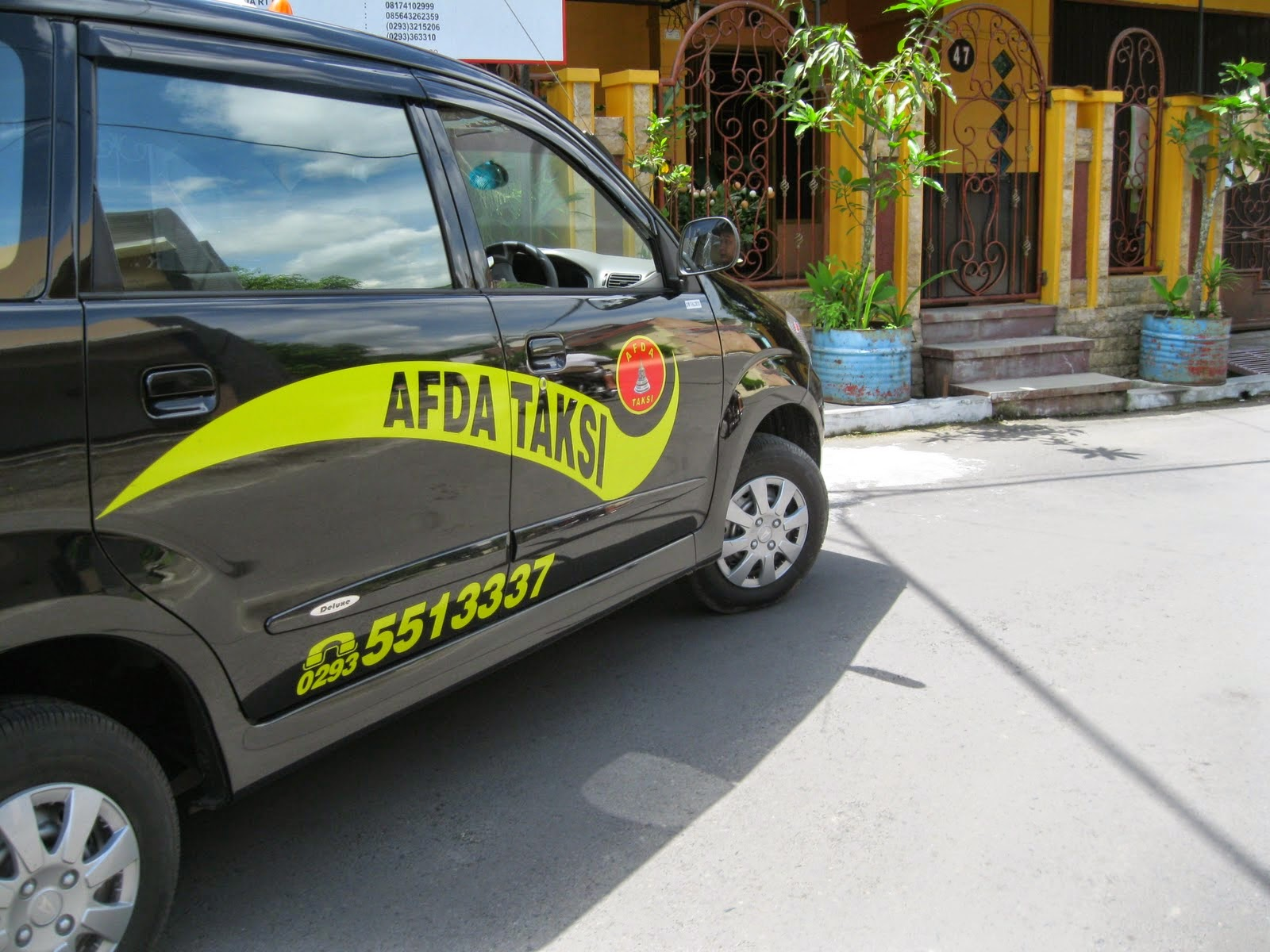 Taxi di Magelang