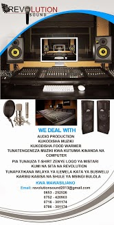 Revolution Sound Studio- Mwanza