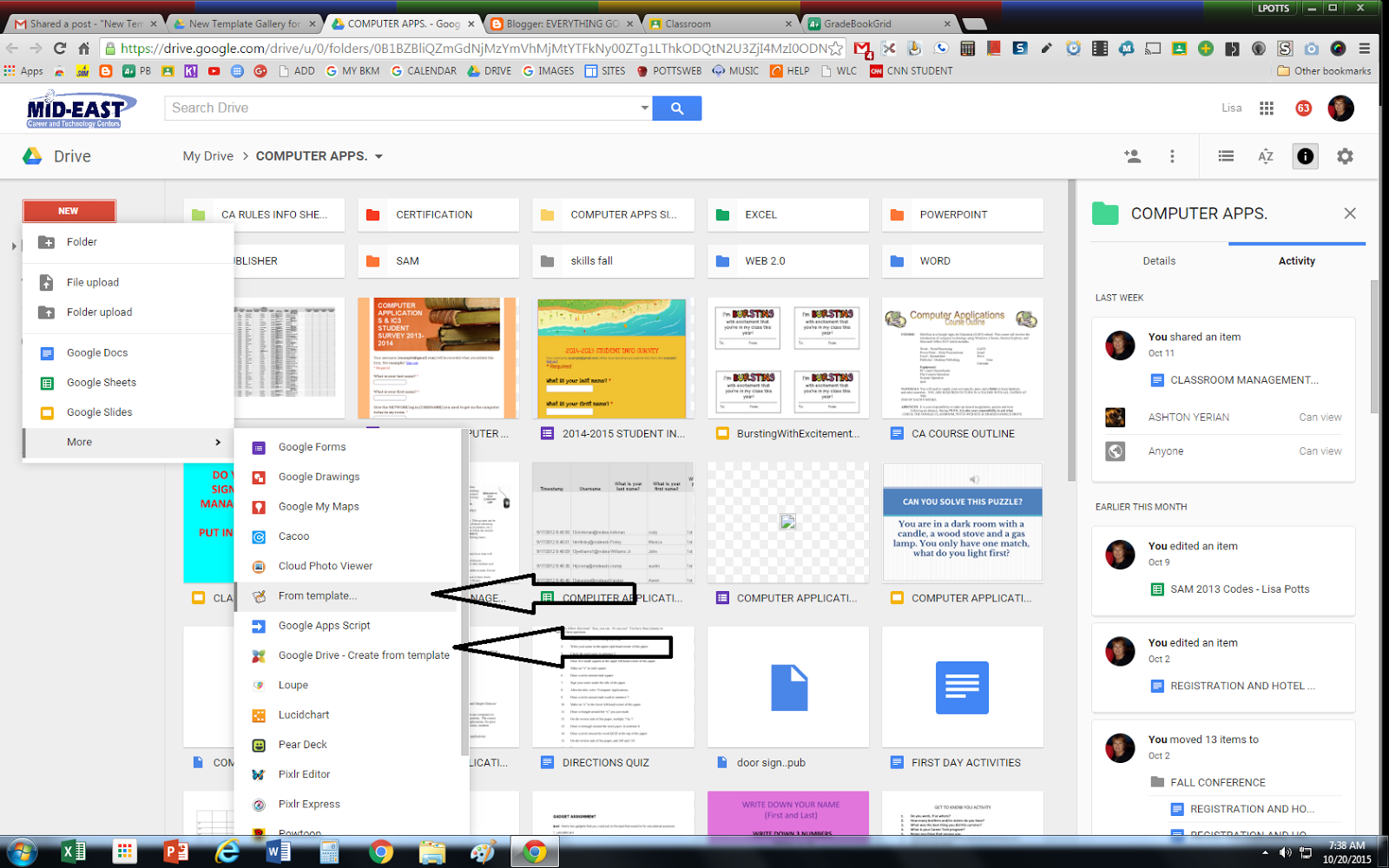 Everything Google Blog New Template Gallery For Drive