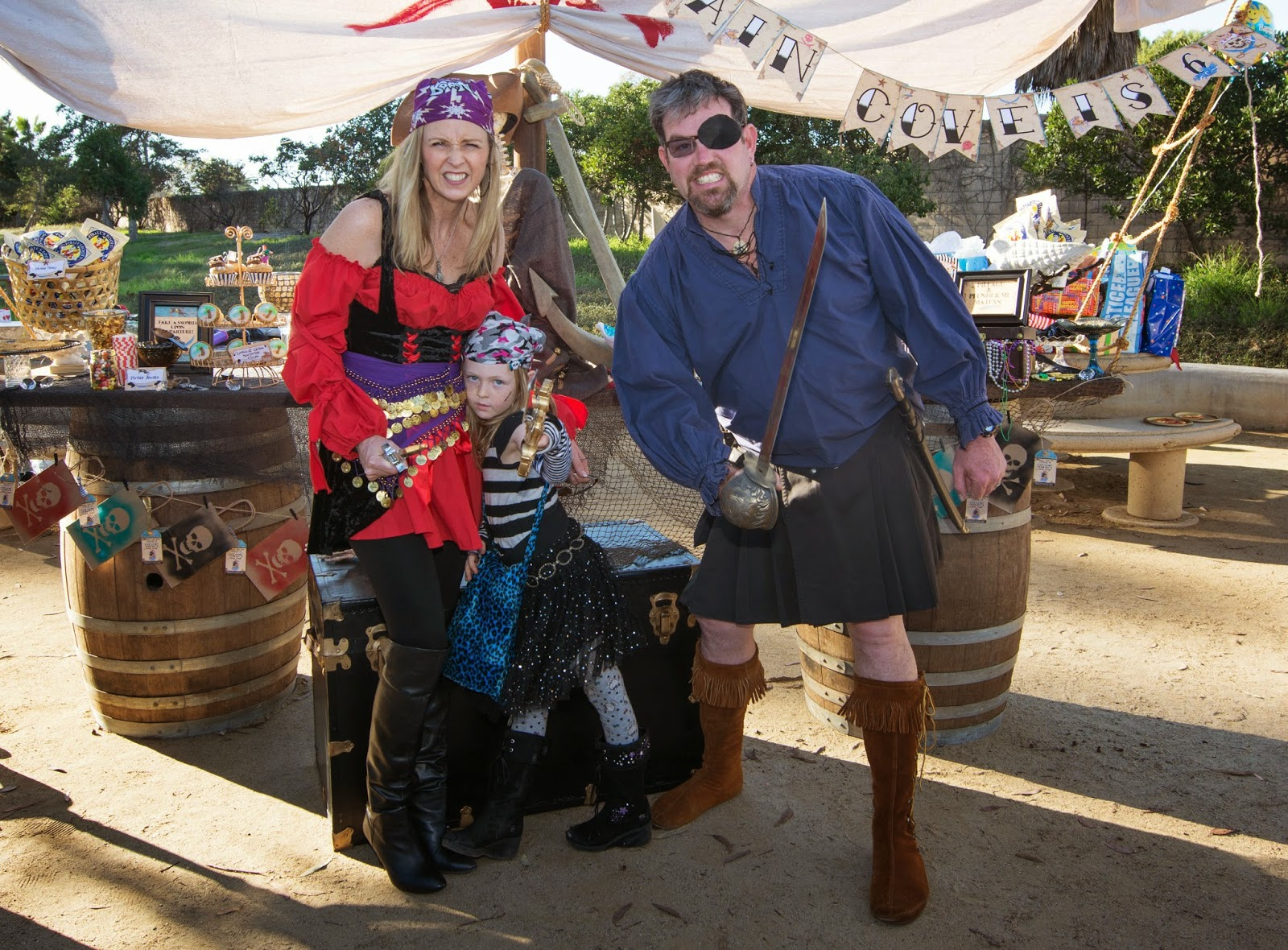 Pirate Party Photos