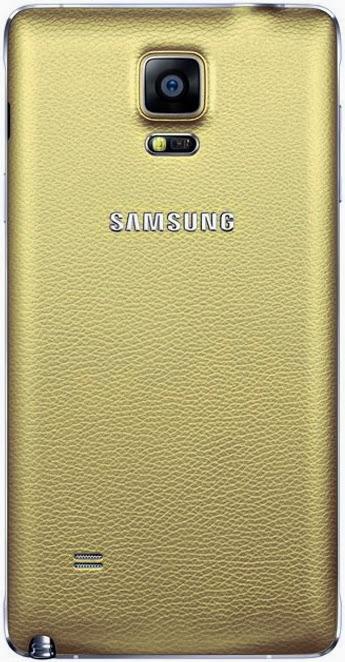 ฝาหลัง Note 4 พร้อมส่ง 129022 สีทอง