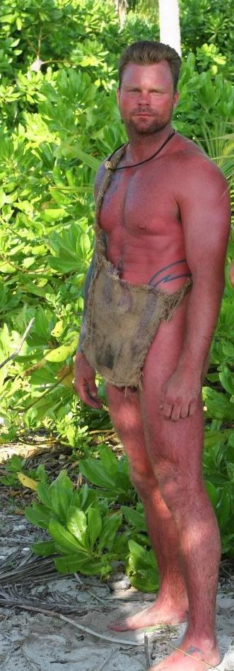 naked and afraid jonathan ass