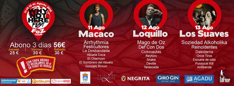 CICLONAUTAS EN EL WHYNOTHEREFEST, FOZ, LUGO