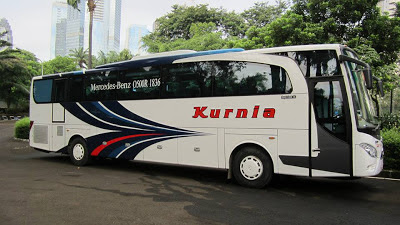 Mercedes benz OH 1836 Royal Coach / Jetbus PO Kurnia