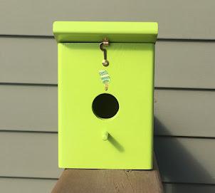 Handmade Keylime Outdoor Backyard Birdhouse $31.99 + shipping