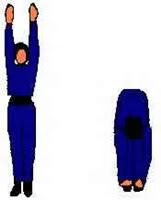 gerakan, senam, peninggi, badan, tiens, cepat, 15