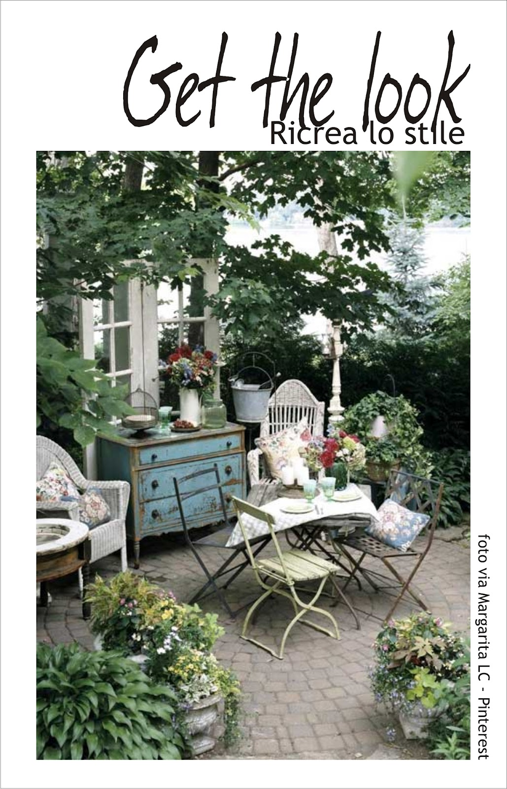 Get the look con maisons du monde 1 blossom zine blog for Maison du monde arredo giardino