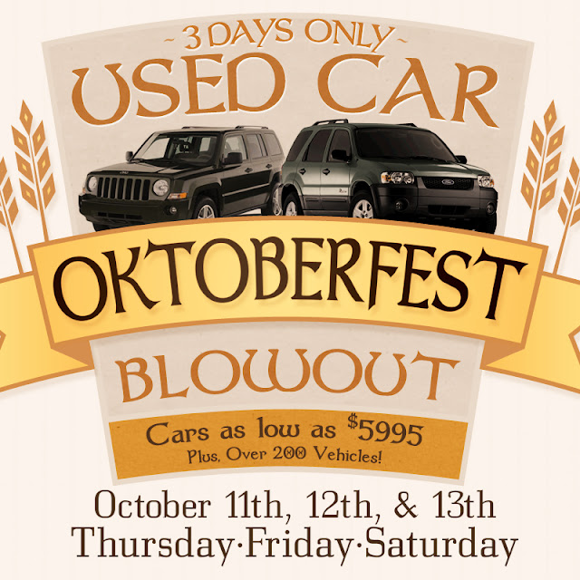 Oktoberfest Used Car Sale Brighton Ford