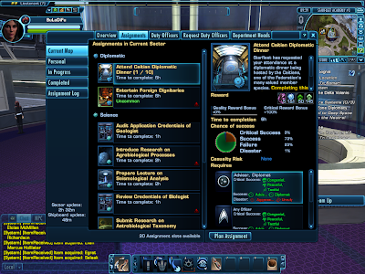 Star Trek Online - Assignments List