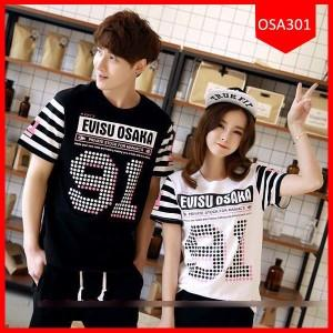 Baju Couple Evisu Osaka 91, Kode OSA301, Free Ongkir