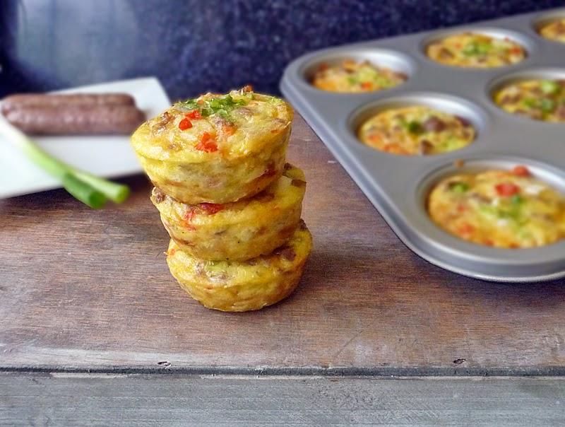 Sausage and Egg Muffin Recipe | by Life Tastes Good #Breakfast #JvilleKitchens #AllstarsJville