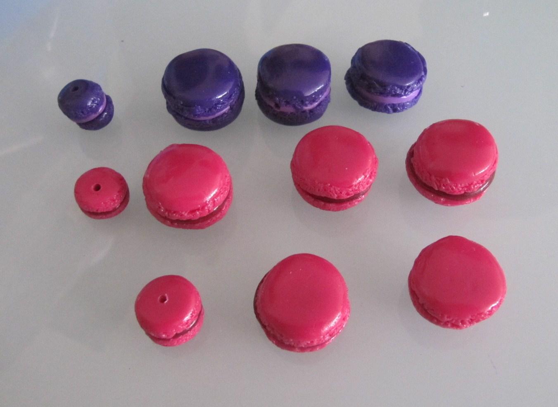 bijoux de cr 233 ation en p 226 te fimo macarons en p 226 te fimo