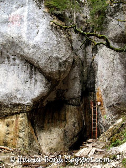 intrare canion 7 scari