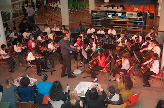 In Harmony Lambeth's Holst Orchestra performing at the South Bank Centre under Gerry Sterling (Photo Reynaldo Trombetta / IHSE)