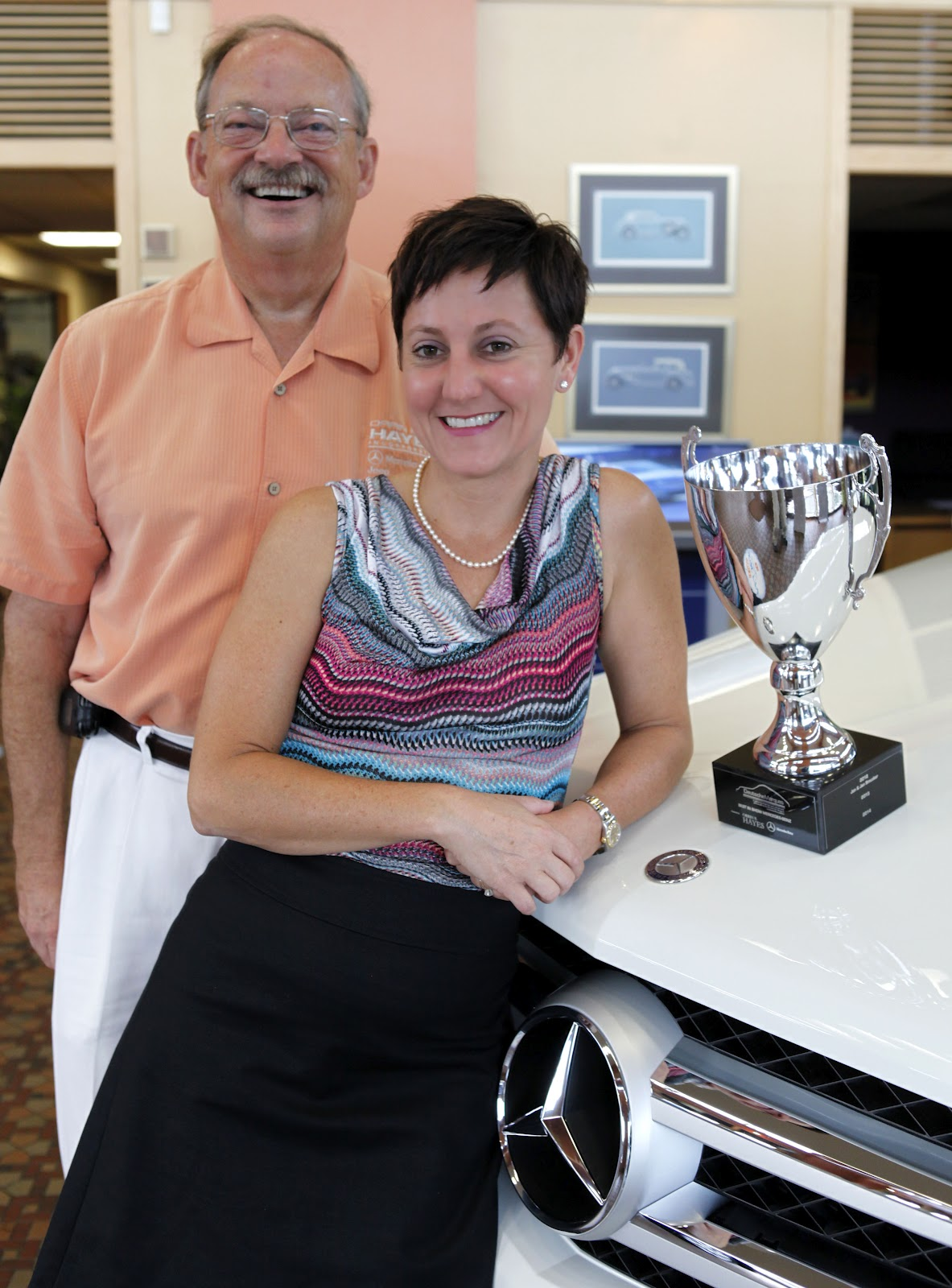 Deutschemarques hayes mercedes benz cup awards go to for Mercedes benz dealership kalamazoo