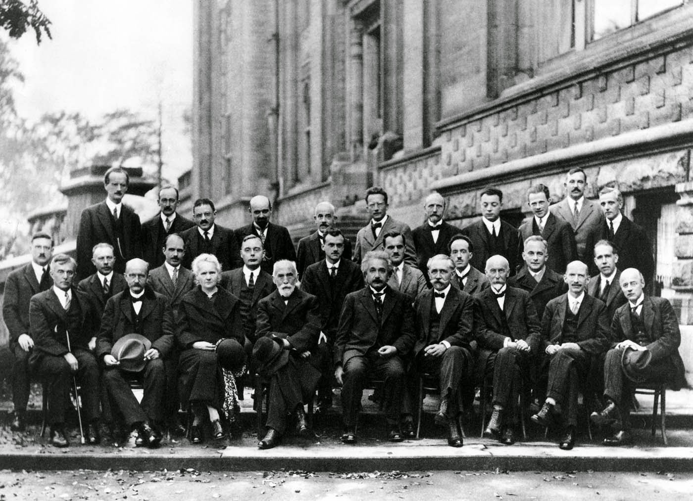 the solvay conference probably the most intelligent picture ever