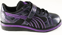 Style Athletics Women Girls Weightlifting Weight Lifting Shoes Do Win Purple Black