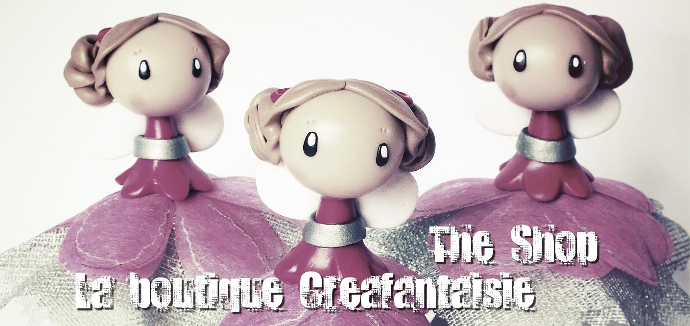 La boutique Creafantaisie: The Shop