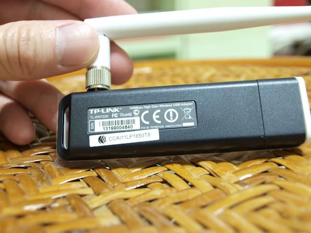 TP-LINK TL-WN722N 150Mbps 高增益 USB 無線網路卡(高通晶片)