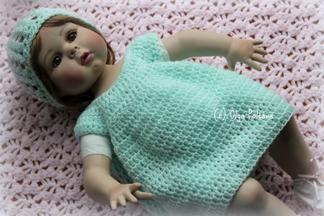 Free Crochet Preemie Baby Dress Patterns : Lacy Crochet: New Preemie Patterns