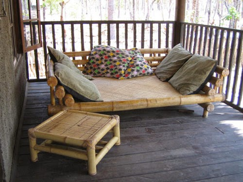 cozy bamboo daybed pictures