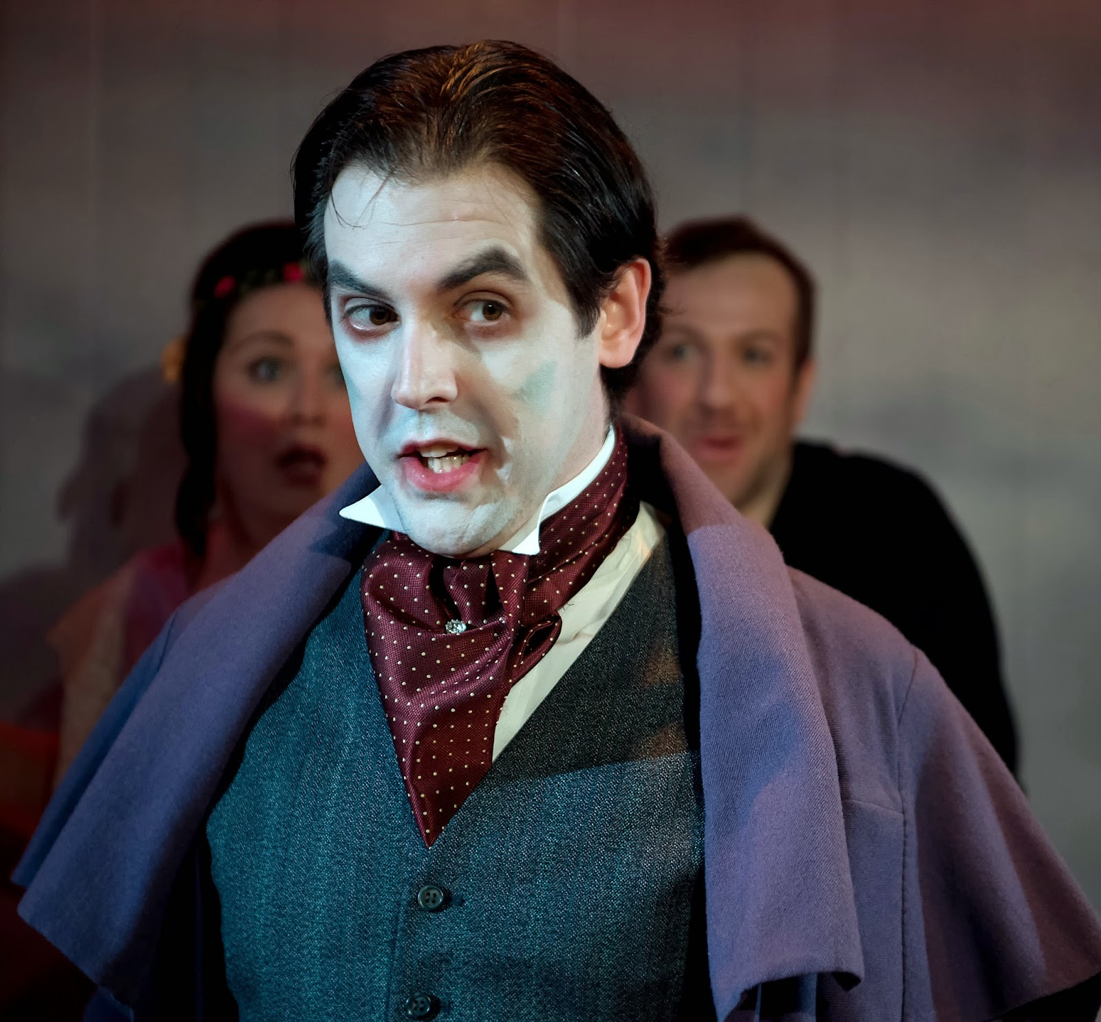 RUDDIGORE - Sir Despard (John Savournin) Photo Bill Knight