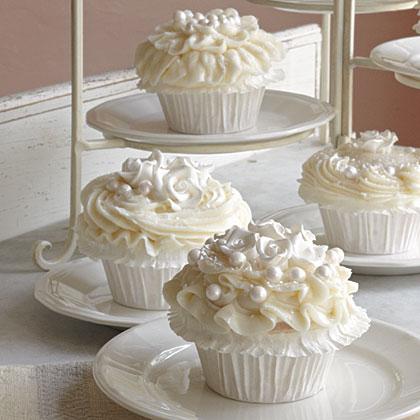 cupcake branco