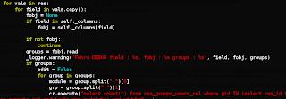 openerp 7 orm error log