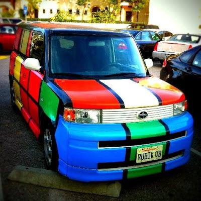 Rubik Cube Car