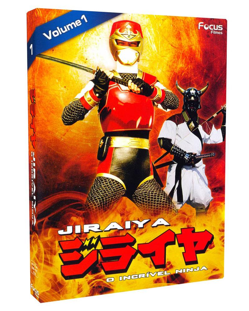 DVD Jiraiya - O Incrível Ninja.