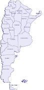 Argentina mapa político . Mapa de Argentina (argentina mapa politico)