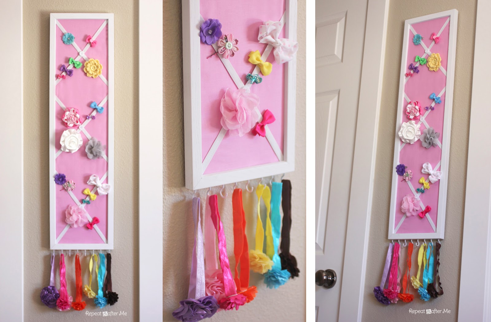 Baby Girl Nursery DIY decorating ideas - Repeat Crafter Me