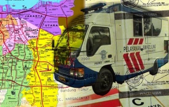 Jadwal SIM Keliling Wilayah DKI Jakarta, Lokasi Alamat Tempat Dan Jam Operasional