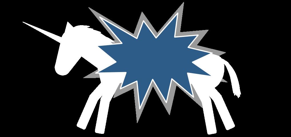 An Exploding Unicorn Webcomic