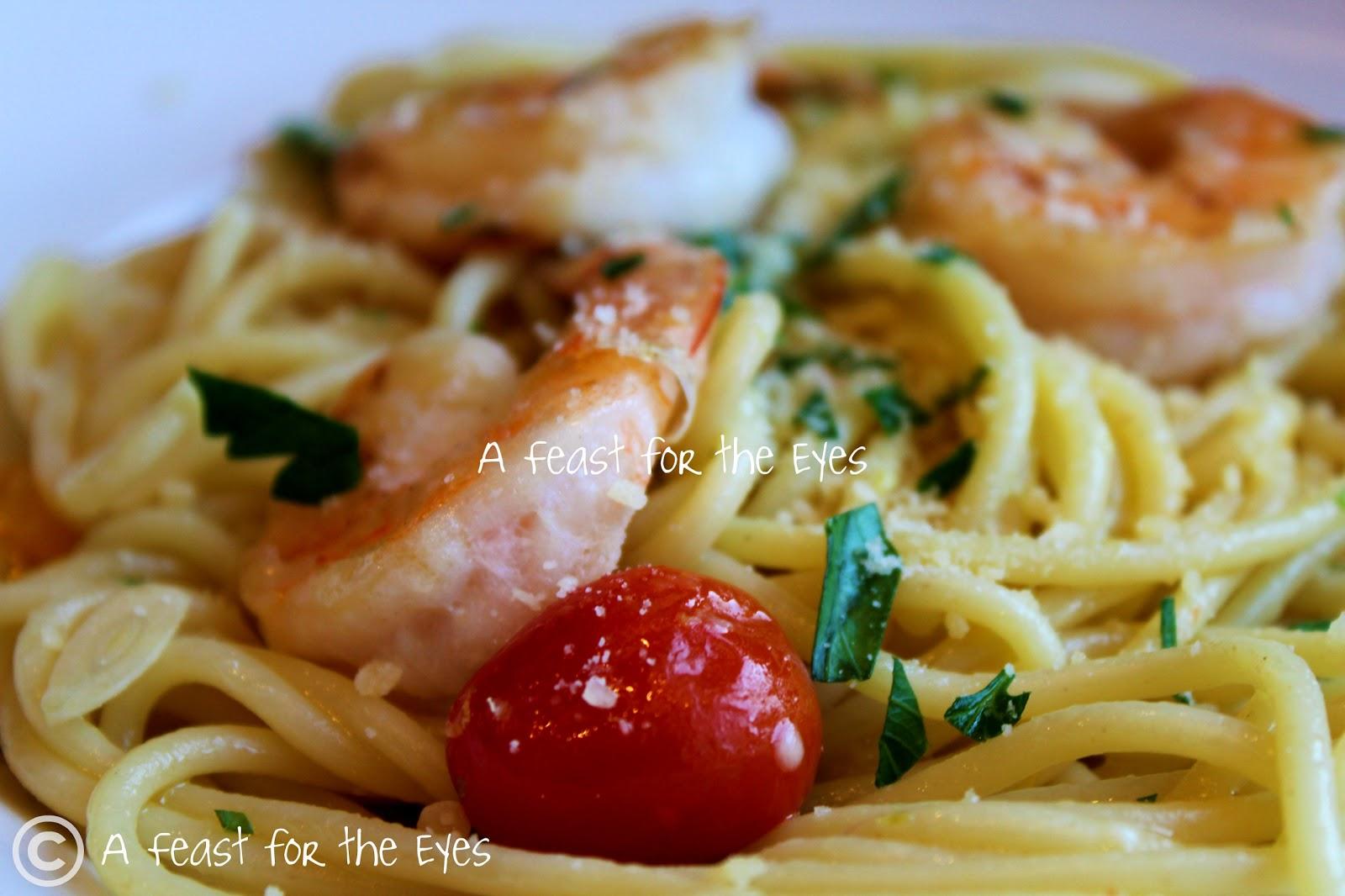 A Feast For The Eyes Ina Garten 39 S Spaghetti Aglio E Olio