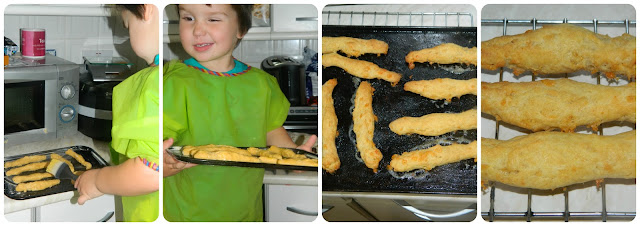 Cheese and Paprika Straws Finished