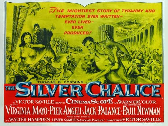 "FILMOGRAPHY:              ""The Silver Chalice"" (1954)"