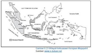 Daerah Kekuasaan Kerajaan Majapahit