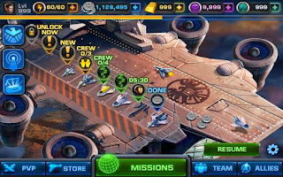 Screenshots of the Avengers: Alliance for Android tablet, phone.